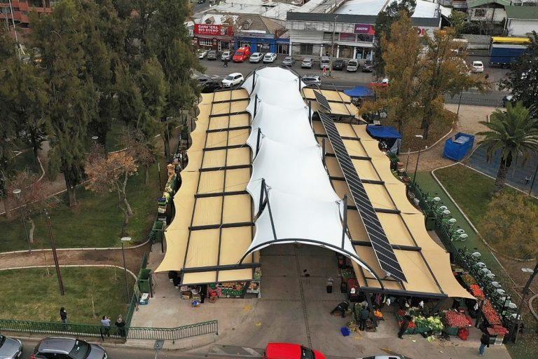 Tensoestructura Feria Modelo Manquehue