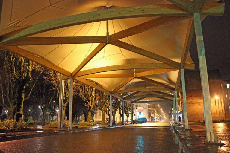 Cubierta Tensada Calle Letelier